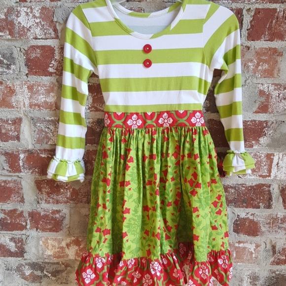 b7b60e14d388 Eleanor Rose Dresses   Christmas Dress Size 6 7 Boutique   Poshmark